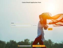 Career Break Application Form Template