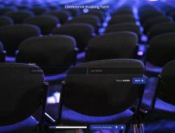 Plantilla de Formulario de Reserva de Conferencias