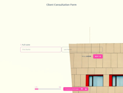 Kundenberatungsformular-Vorlage