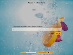 Modelo de Formulário de Feedback do Paciente