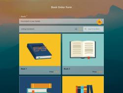 Modelo de Formulário de Pedido de Livro