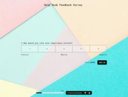 Modelo de Pesquisa de Feedback de Help Desk