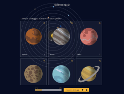 Science Quiz Template